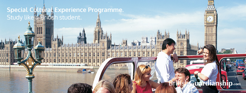 Special Cultural Experience Programme. Study like a British student.