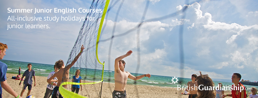 Summer Junior English Courses. All-inclusive study holidays for junior learners.